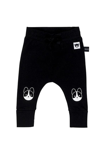 Frenchie Drop Crotch Pant Black