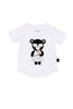 Heart Bear T-Shirt White