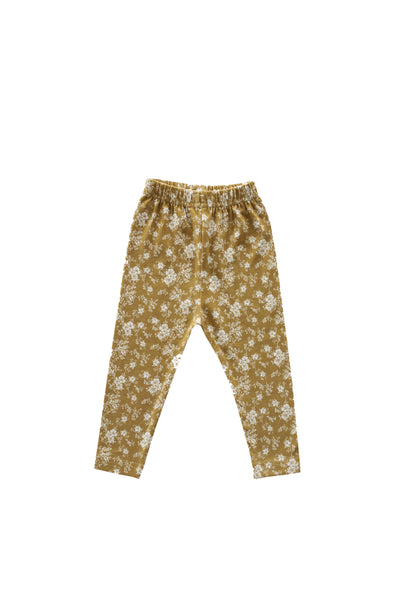 Legging Golden Floral
