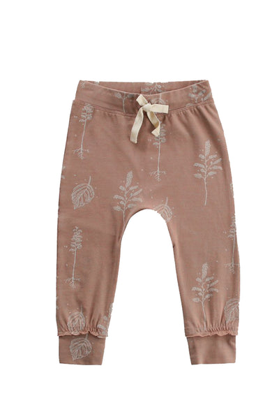 Botanic Fawn Cuffed Pants Brown