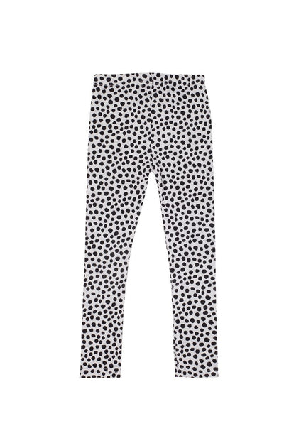 Leggings Light Grey Marle Spot