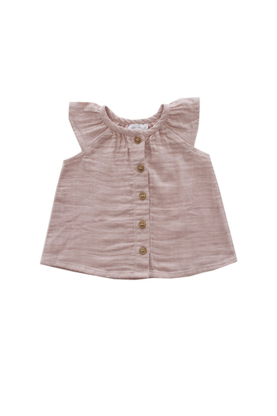 Lane Blouse Rose Smoke