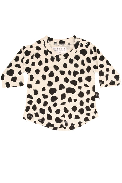 Leopard Long Sleeve Top Sand