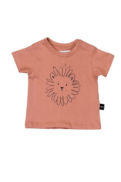 Lion Box T-Shirt Copper