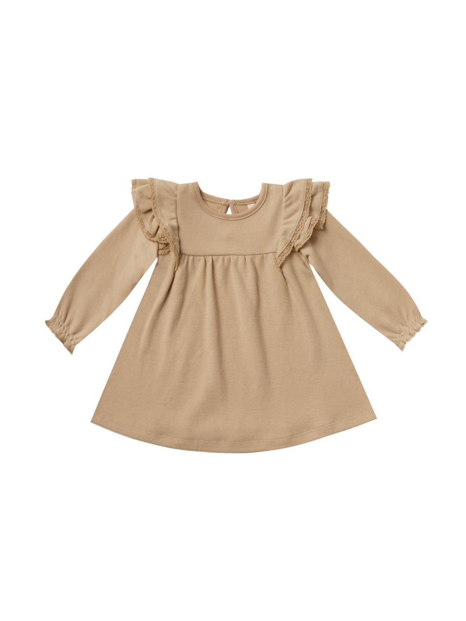 Flutter Dress Longsleeve Honey