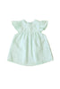 Mint Linen Babydoll Dress Mint