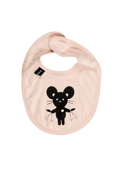 Mouse Bib Tearose