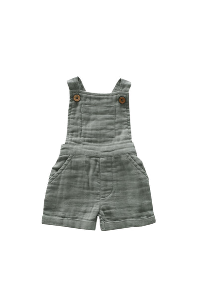 Organic Cotton Muslin Hugo Overalls Willow