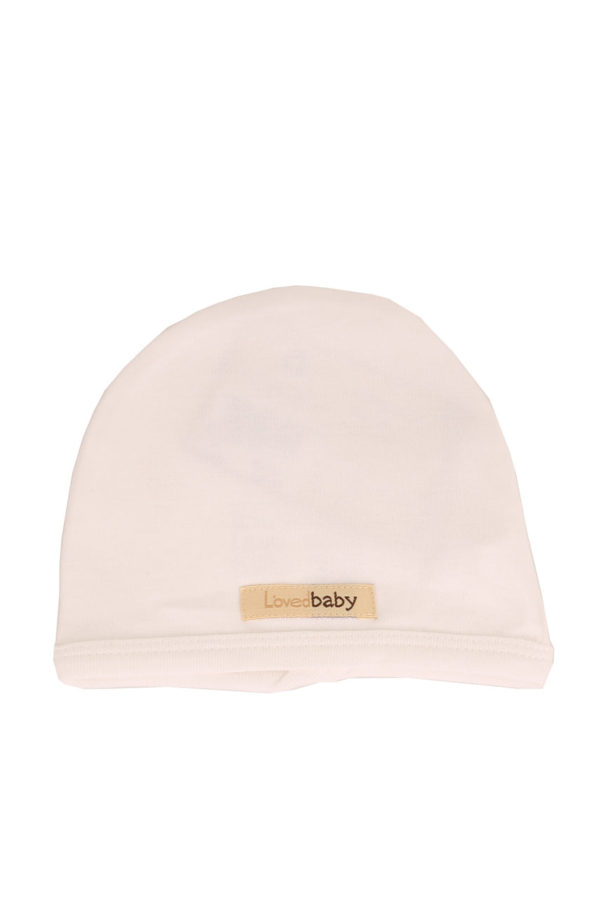 Organic Cute Cap White