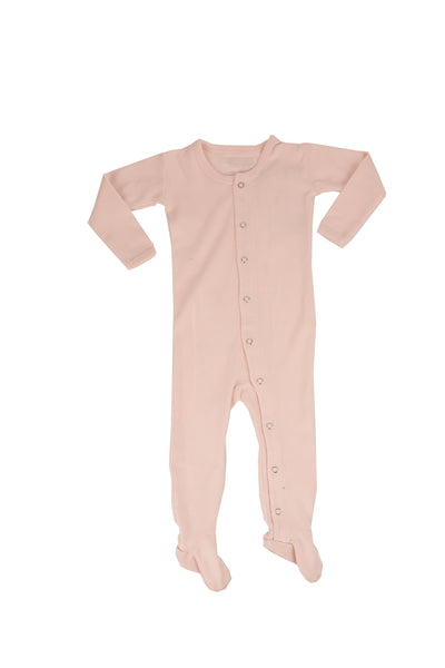 Organic Footed Overall Blush