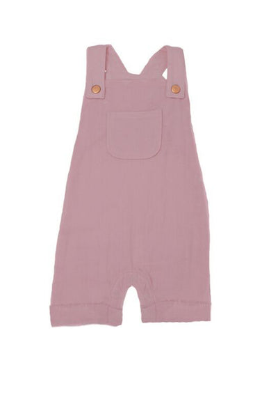 Organic Muslin Overall Lavender