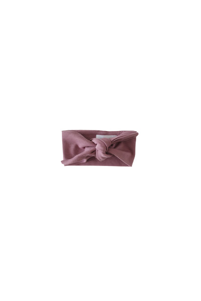 Pima Cotton Headband Nostalgia Rose