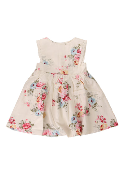 Poppy Bib Dress Cream