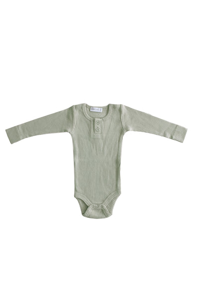Cotton modal Bodysuit Sage