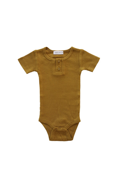 Cotton Modal Tee Bodysuit Golden
