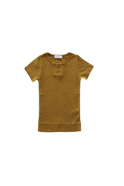 Cotton Modal Tee Golden