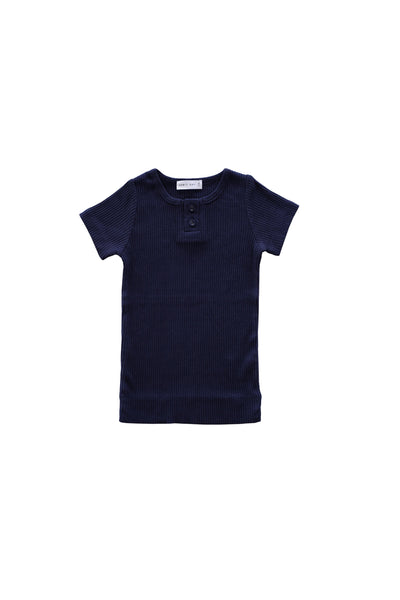 Cotton Modal Tee Navy