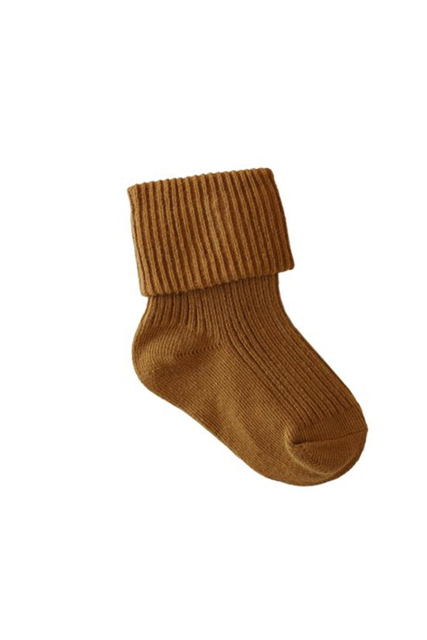 Rib Socks Golden