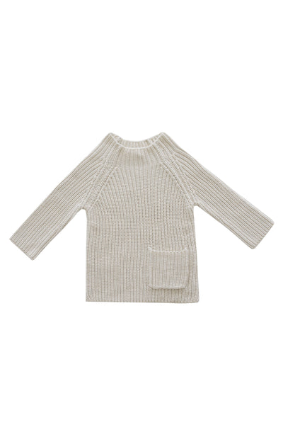 Riley Knit Oatmeal Marle