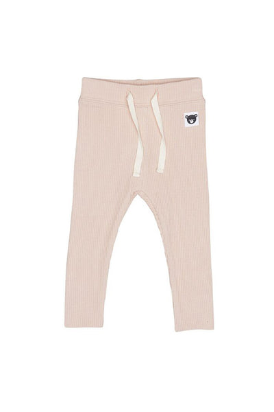 Rib Legging Rose
