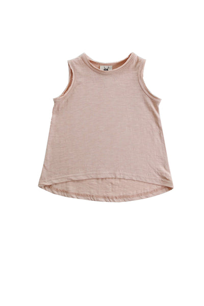 Shy Pink A Line Singlet