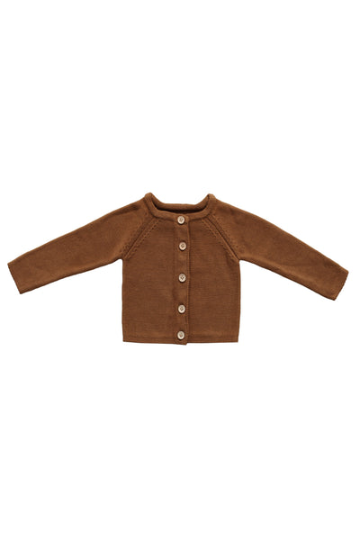 Simple Cardigan Bronze