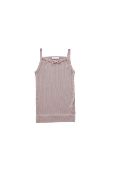 Cotton Modal Singlet Bloom
