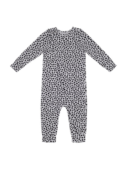 Skinny Onesie Light Grey Marle Spot