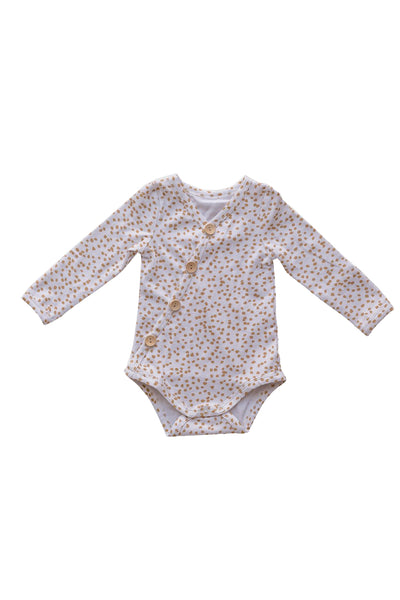 Speckle Long Sleeve Bodysuit