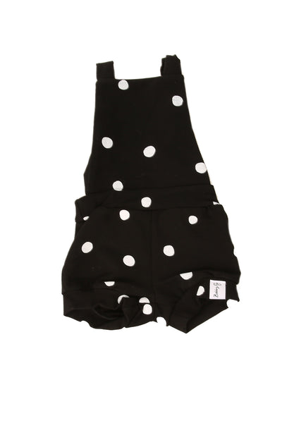 Spotty Summer Romper Black