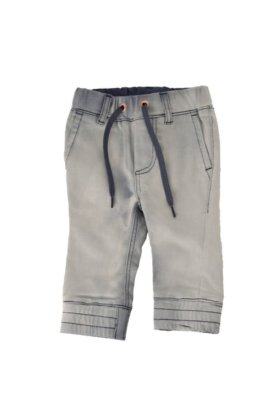 St. Tropez Denim Chino Joggers Blue