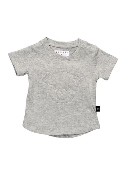 Stitch Bear T-Shirt Grey Marle