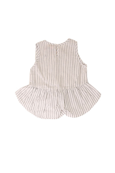 Stripe Dress Black White Stripe