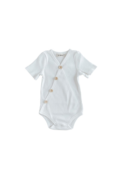 Milk Short Sleeve Bodysuit