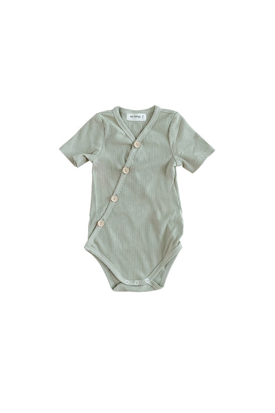 Olive Short Sleeve Bodysuit