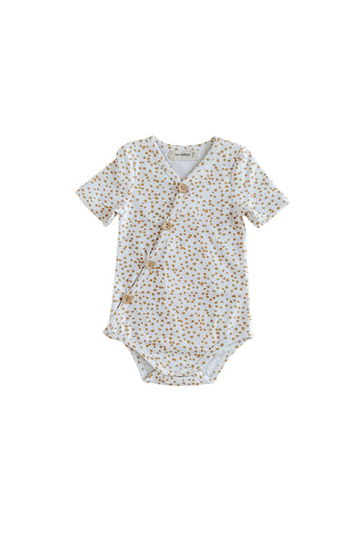 Speckle Short Sleeve Bodysuit