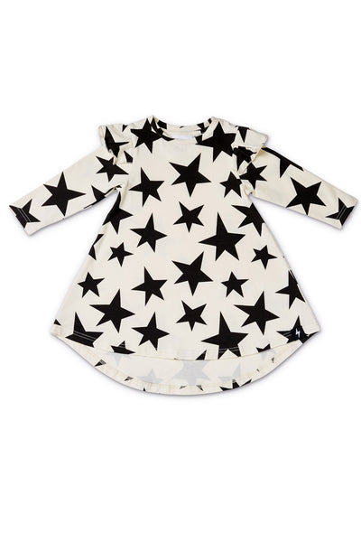 Superstar Twirling Dress Cream