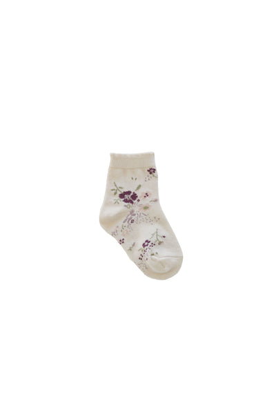 Socks Sweet William Floral
