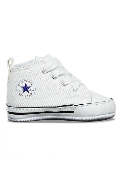 Toddler Crib Chuck Taylor First Star Hi White