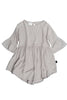 Woven Dress Pale Grey