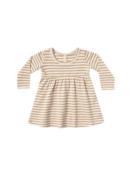 Baby Dress Honey Stripe