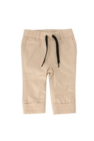 Florence Sand Chino Joggers Beige