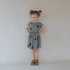 Pinecone Dress Sage