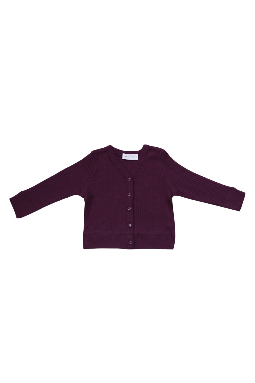 Original Cotton Modal Cardi Fig