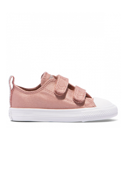 Chuck Taylor All Star Fairy Dust Toddler 2V Rust Pink