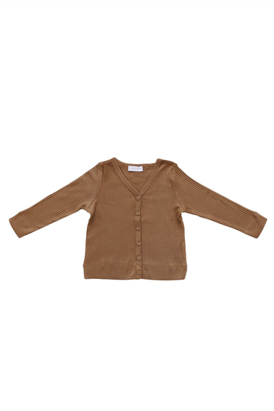 Original Cotton Modal Cardi Bronze