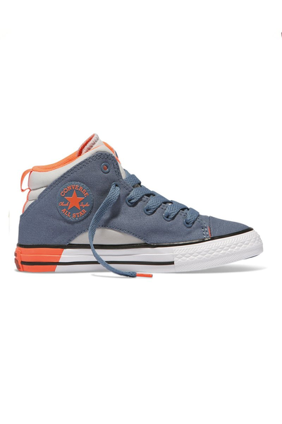 Chuck Taylor All Star Official Youth Mid Blue Coast