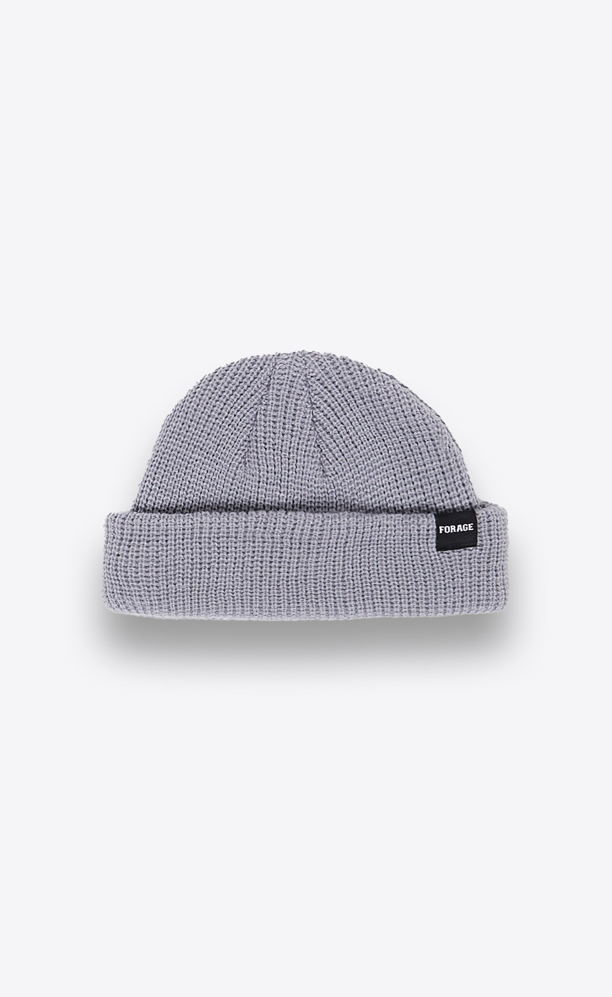 FISHERMAN BEANIE - DARK GREY - Forage-Clothing