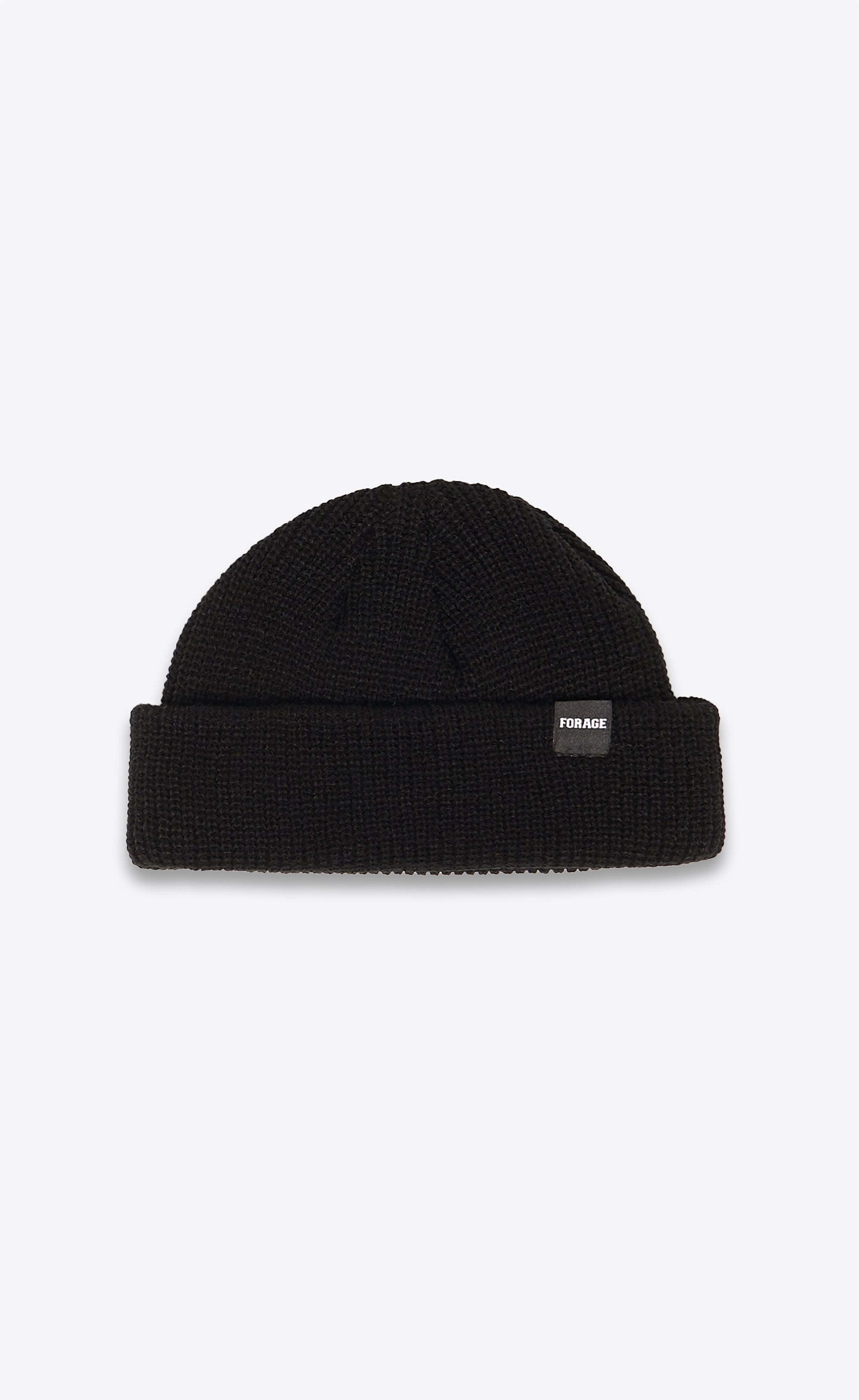 FISHERMAN BEANIE - BLACK - Forage-Clothing