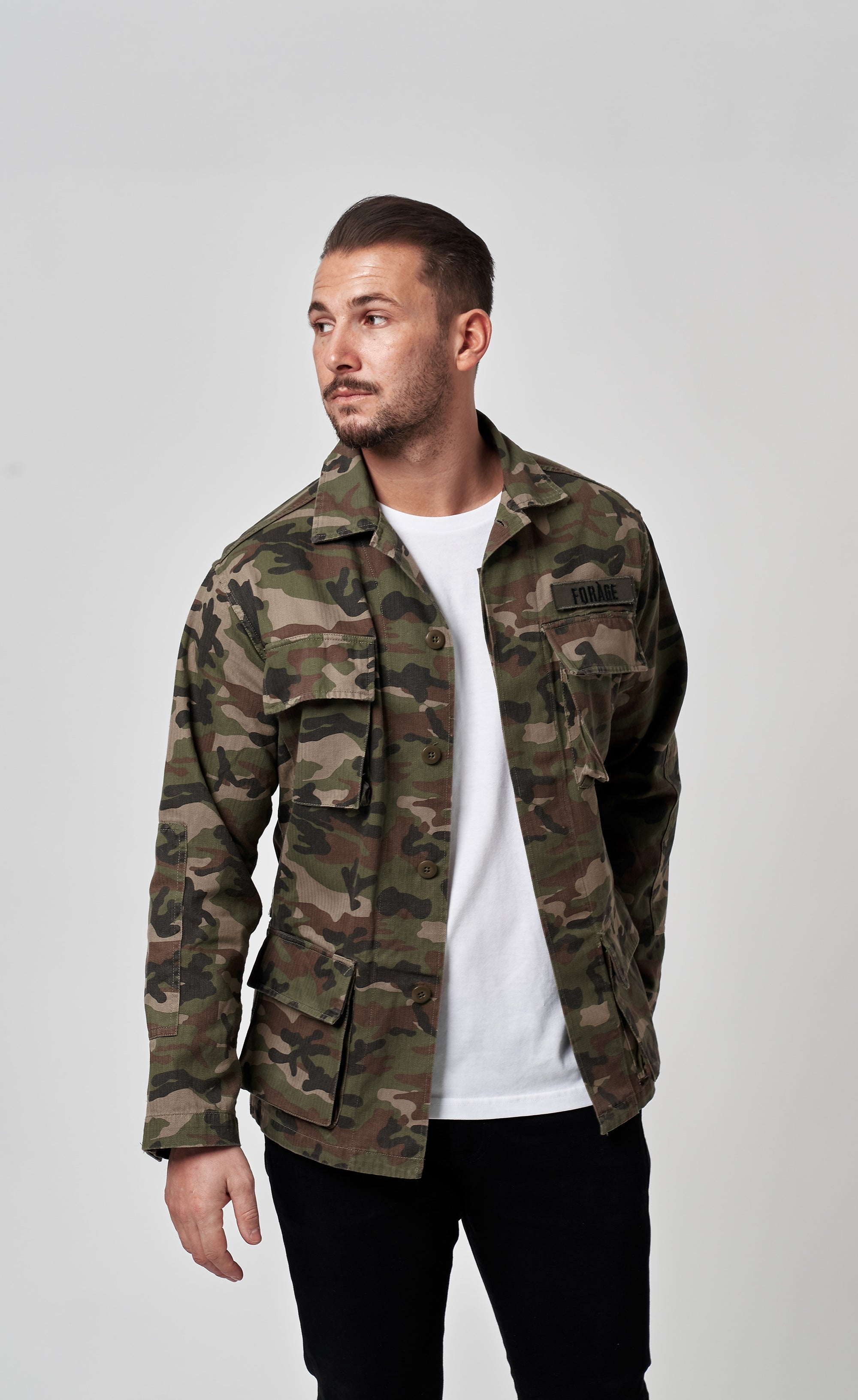 ARMY JACKET - CAMOUFLAGE - Forage-Clothing